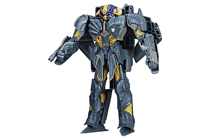 Transformers Knight Armor Turbo Changer Megatron