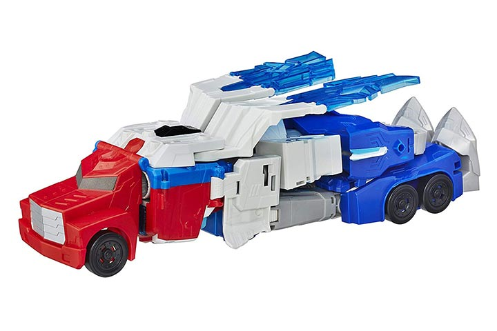 Transformers Robots in Disguise Optimus Prime and Aerobolt