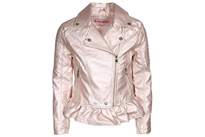 Urban Republic faux leather biker jacket