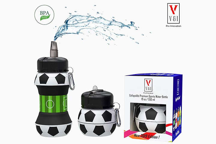 V I Pro Innovation collapsible water bottle