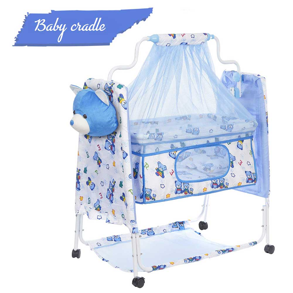 funBaby Cozy Cradle With Mosquito Net
