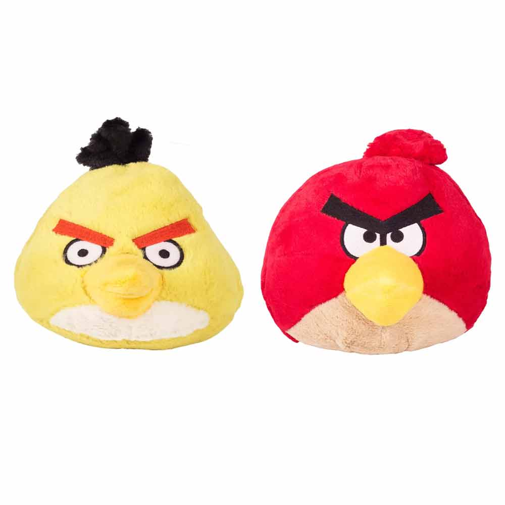 Angry Birds Soft Toys Pack