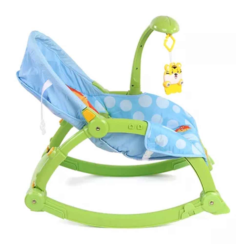 Baby Musical Rocker With Hanging Toys-0