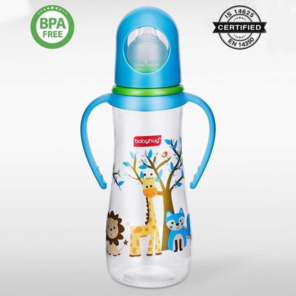 Babyhug Bubble Anti-Colic Feeding Bottle With Handles