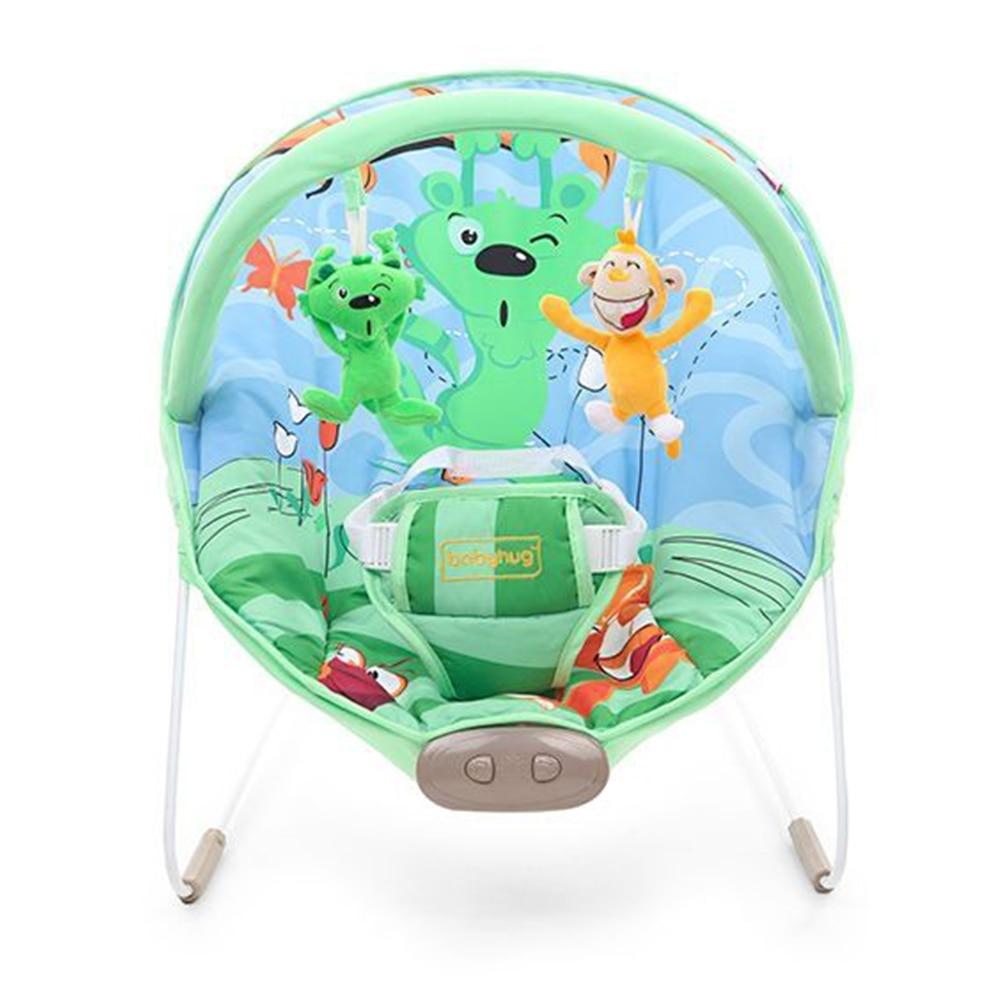 Babyhug Comfy Bouncer Babyhug Comfy Bouncer With Music & Calming Vibrations Animal Print-2