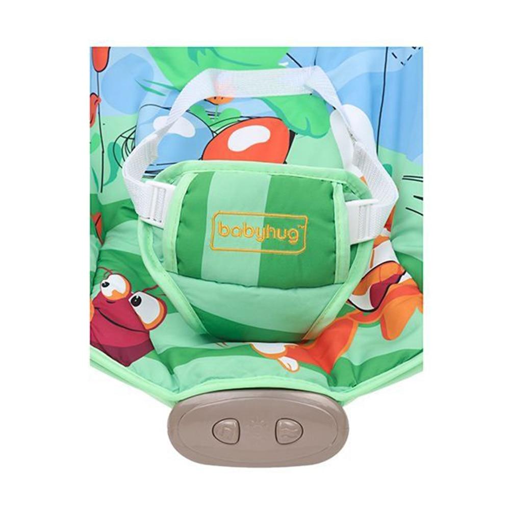 Babyhug Comfy Bouncer Babyhug Comfy Bouncer With Music & Calming Vibrations Animal Print-3