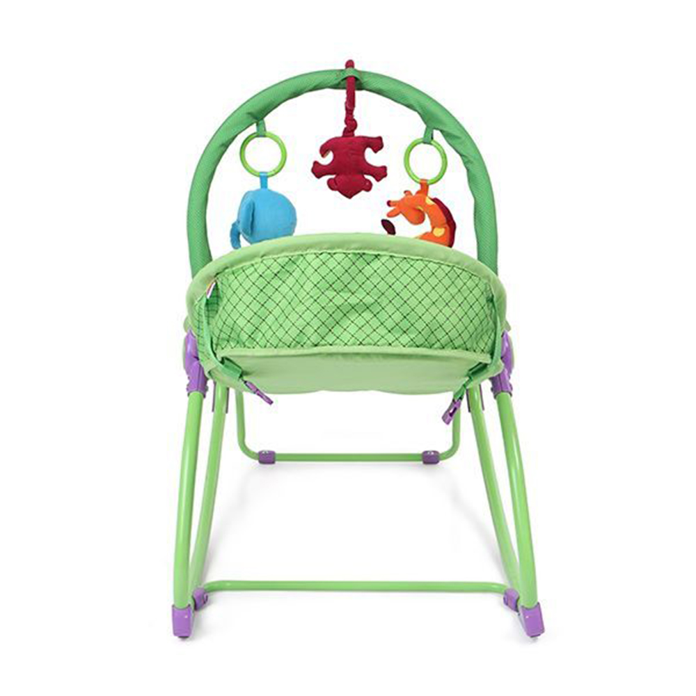 Babyhug Delight 3 In 1 Infant To Toddler Rocker With Safety Harness & Reclining Seat-4
