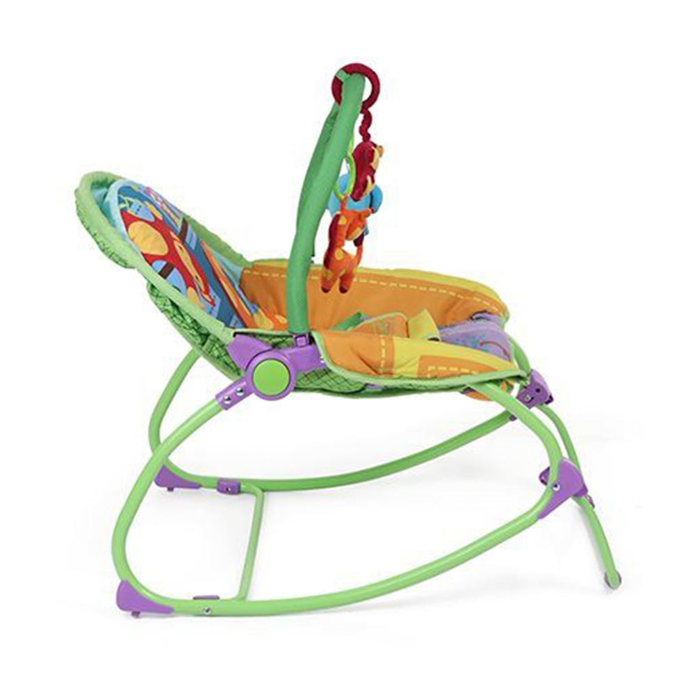 Babyhug Delight 3 In 1 Infant To Toddler Rocker With Safety Harness & Reclining Seat-5