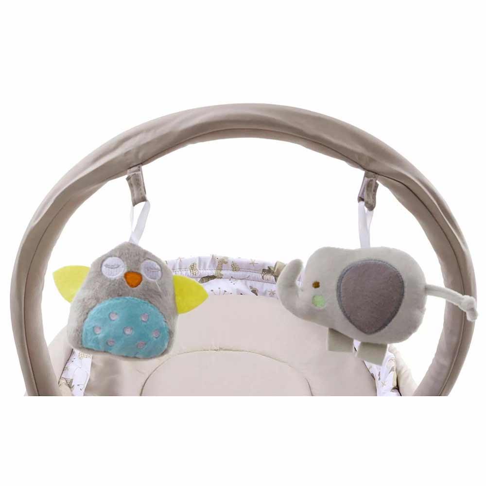 Babyhug Opal 3 in 1 Cozy Rocker Sleeper With Mosquito Net-3