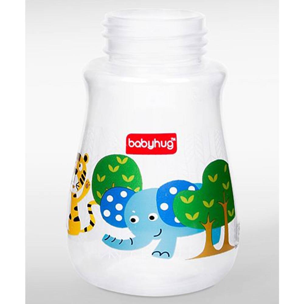 Babyhug Polypropylene Drop Anti- Colic Feeding Bottle