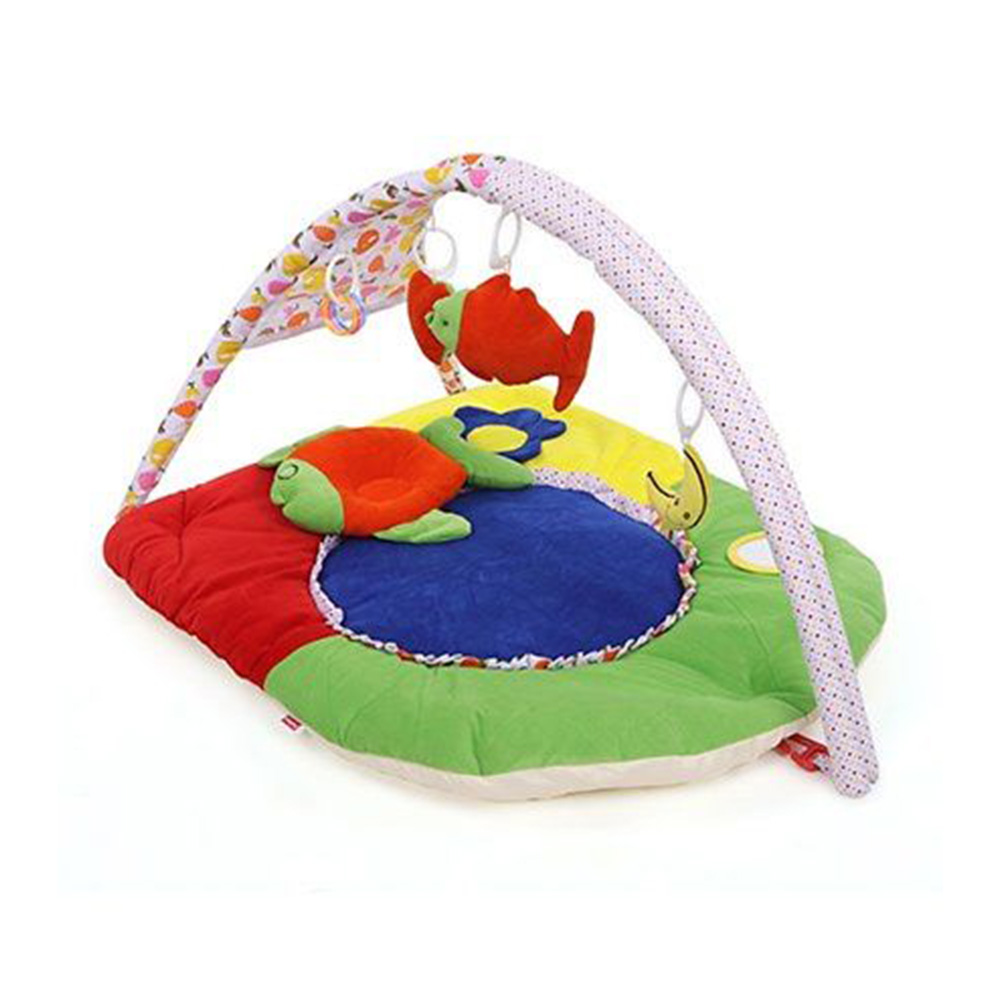 Babyhug Premium Play Gym With Fish Toy & Pillow