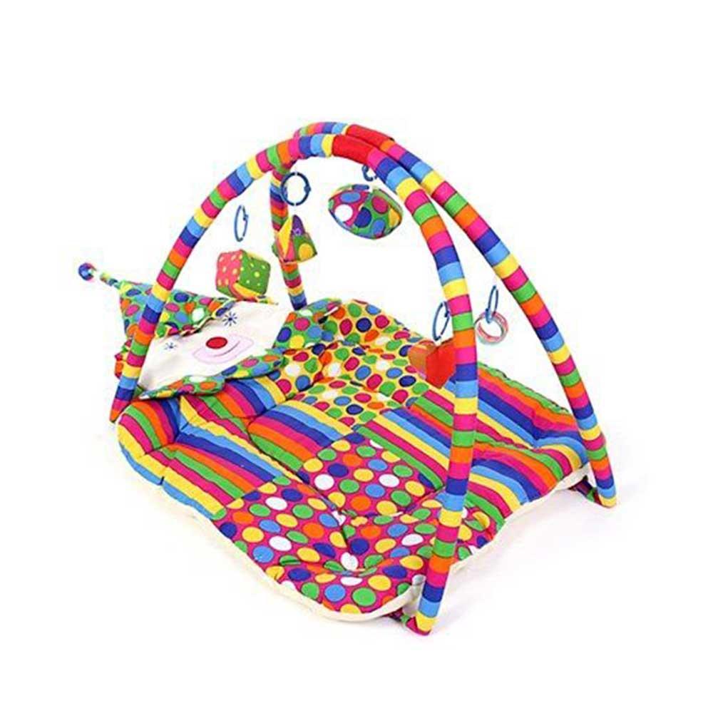 Babyhug Smiling Clown Twist N Fold Activity Play Gym