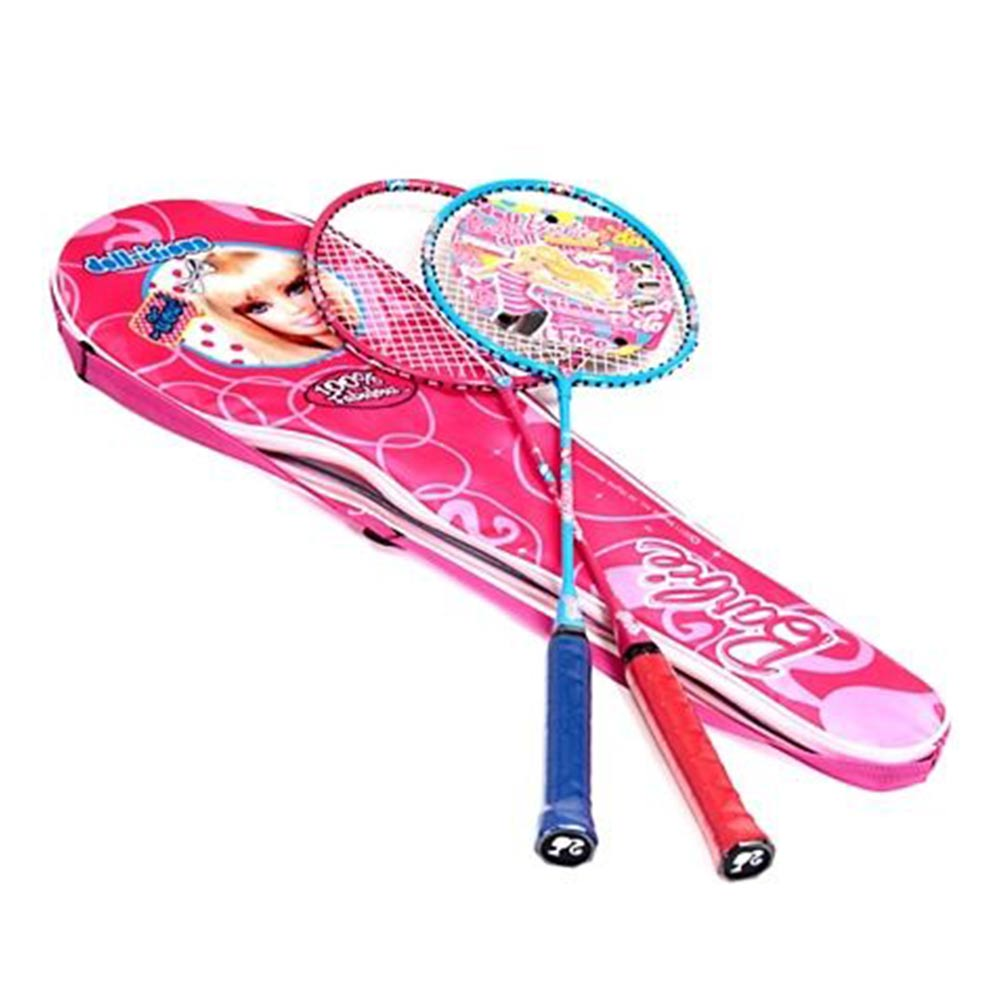 Barbie Badminton Racket With Cover