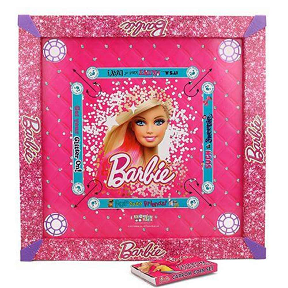 Barbie Wooden Carrom Board