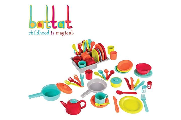 Battat - Deluxe Kitchen - Pretend Play Accessory Toy Set