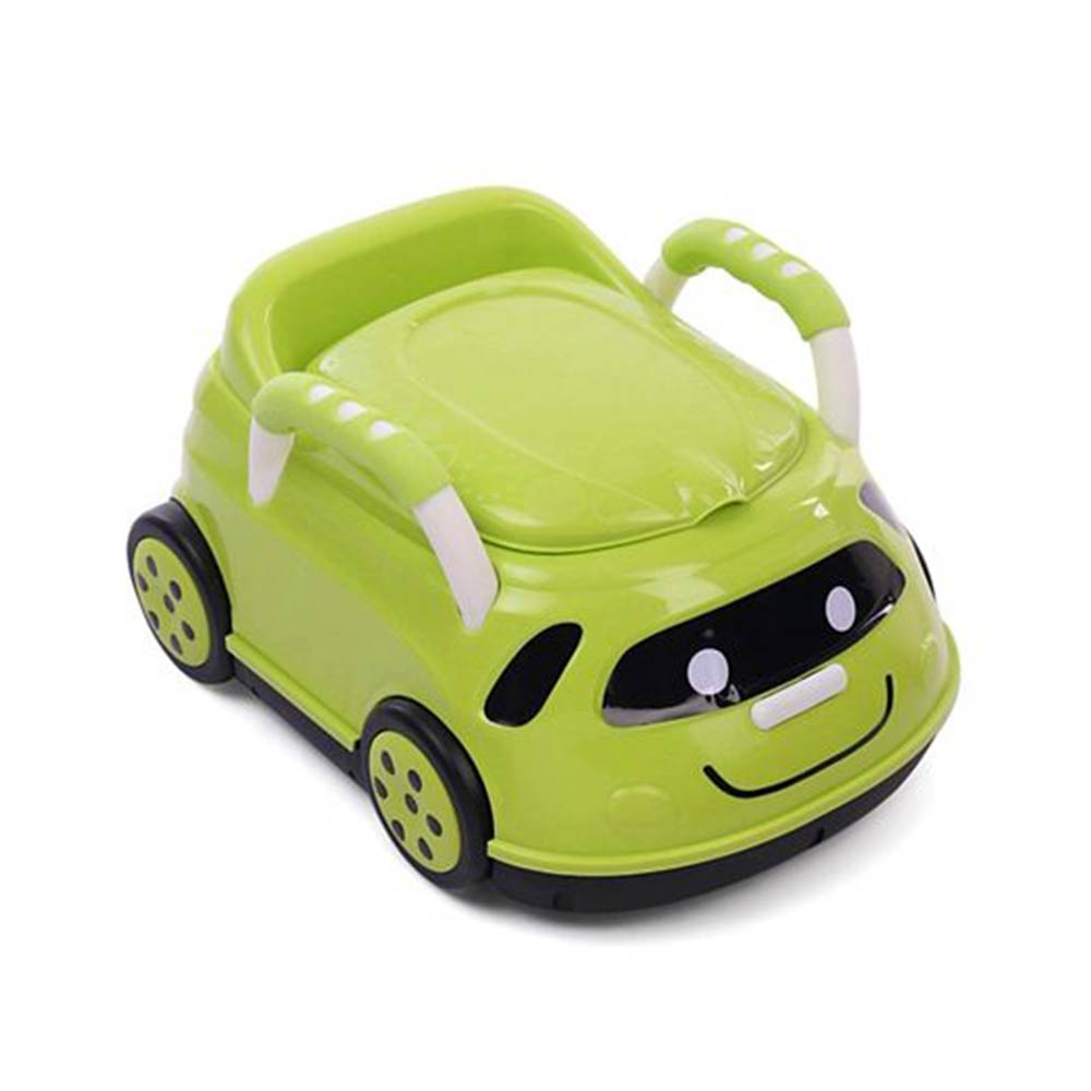 Car Shape Potty Chair With Handles
