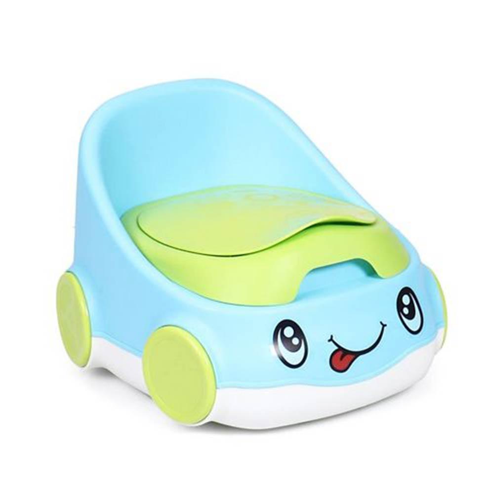 Fab-N-Funky Car Shape Potty Chair With High Backrest