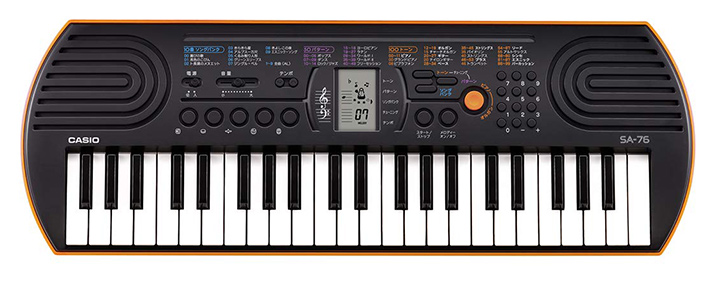 Casio SA76 44-Key Mini Personal Keyboard