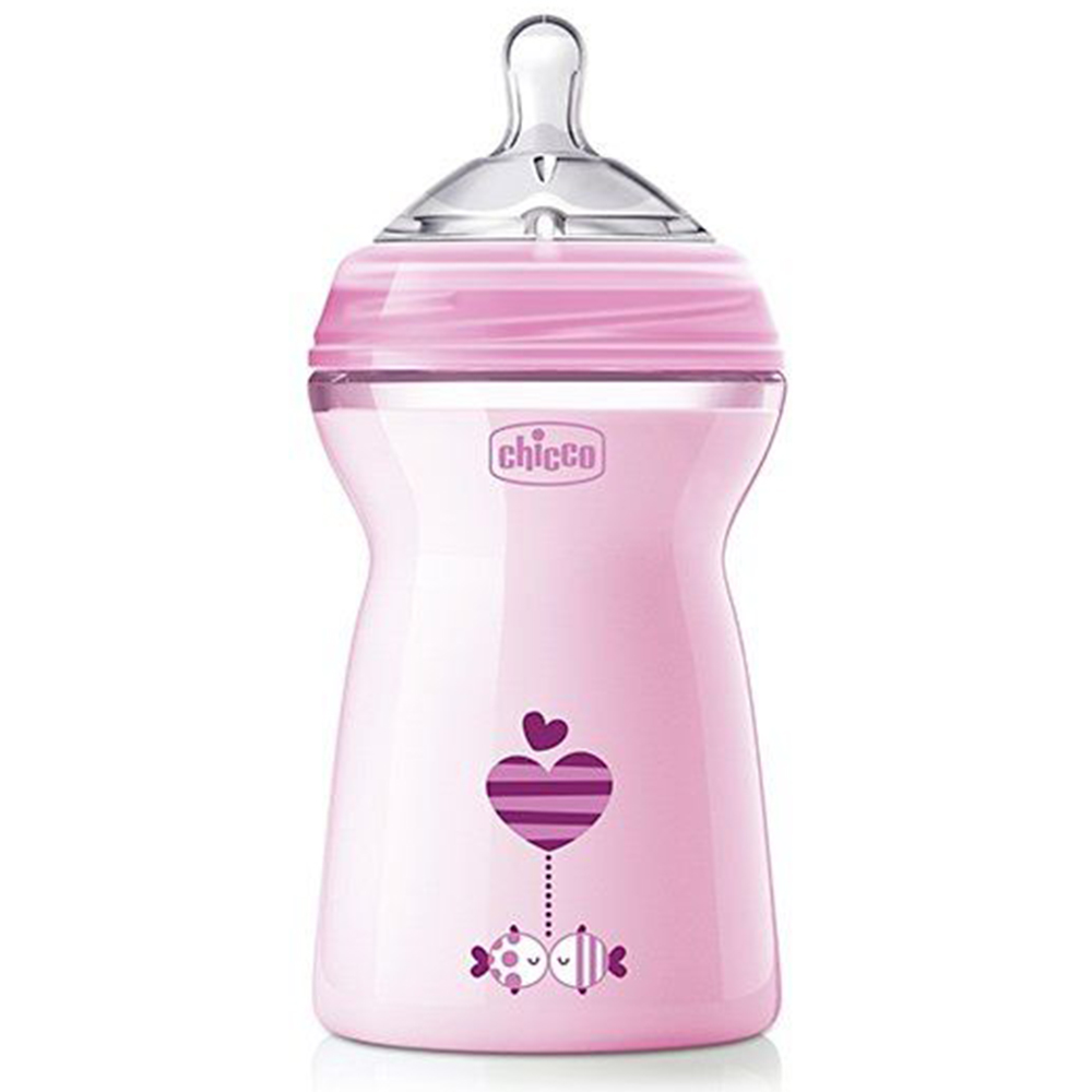 Chicco Natural Feeling Fast Flow Feeding Bottle