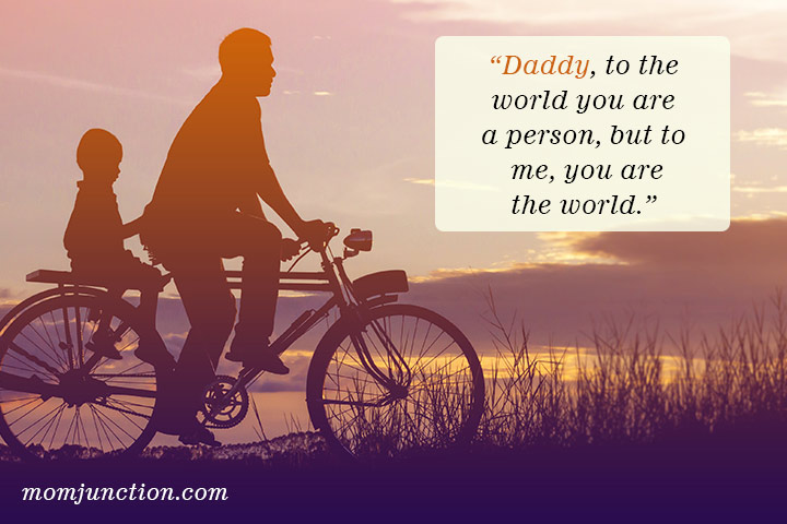 Quotes on son and dad relationship