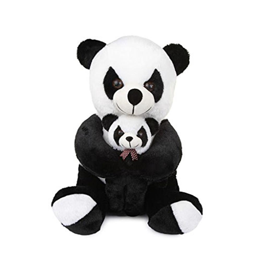 Deals India Mother Panda With Baby Panda Soft Toy