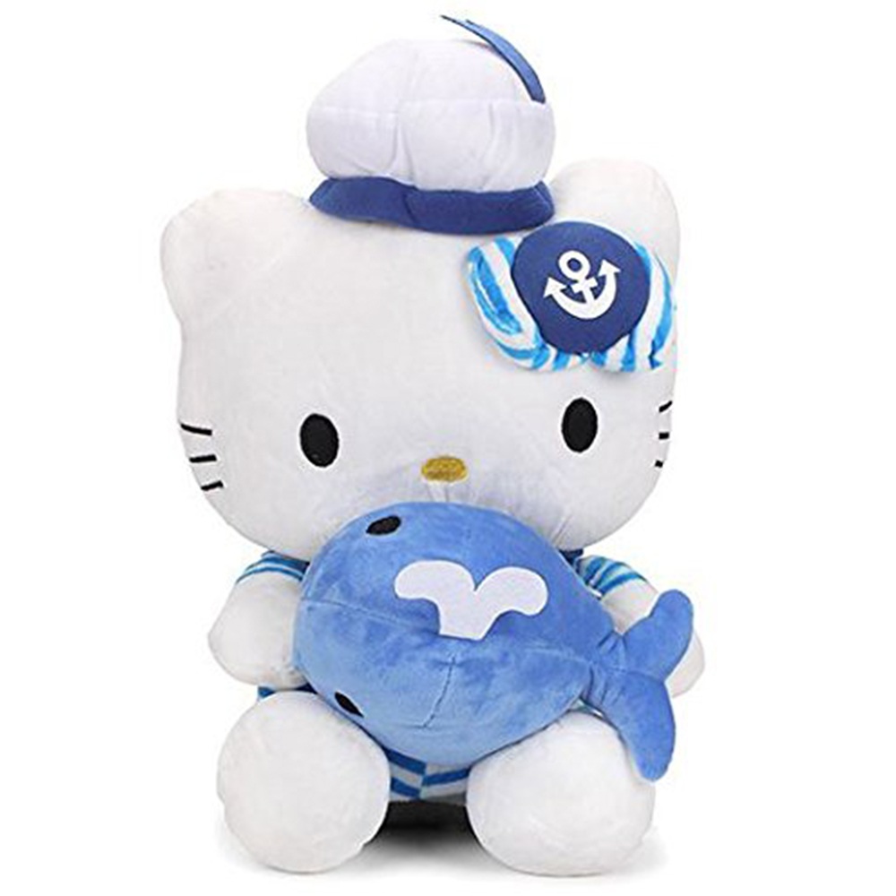 Dimpy Stuff Hello Kitty Sailor Soft Toy