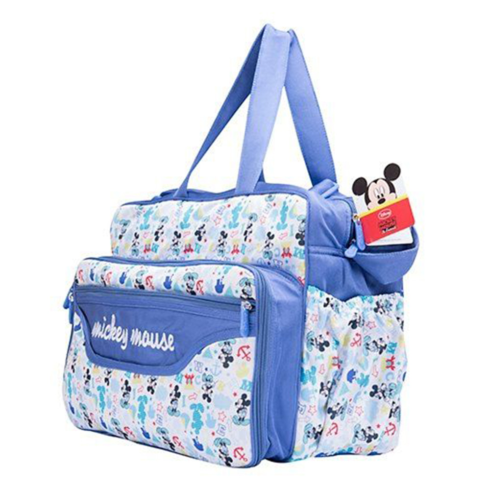 Disney Mickey Mouse Design Diaper Bag With Changing Mat