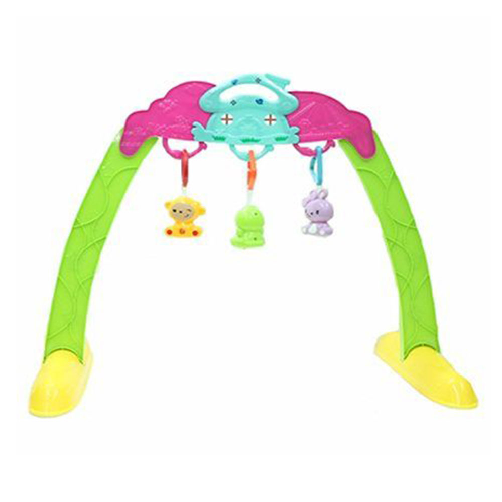 Emob Baby Portable Play Gym Frame With Rattle Toys