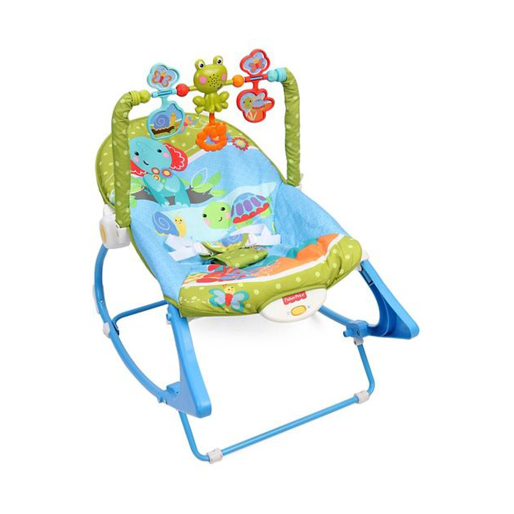 Fisher Price Infant To Toddler Rocker Animal Design