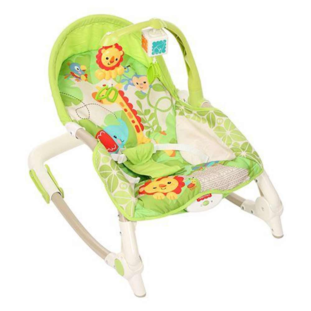 Fisher Price Newborn to Toddler Rocker With Free Diaper Bag