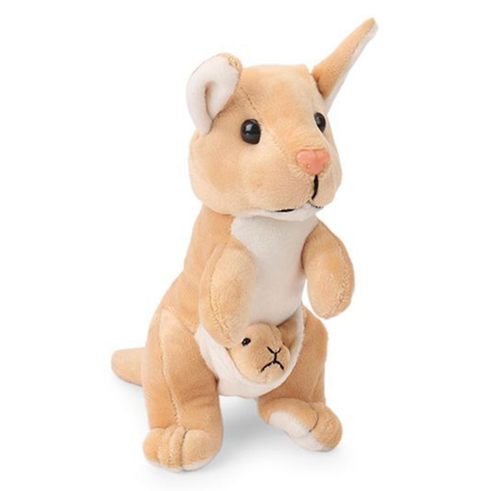 Funzoo Kangaroo With Baby Soft Toy