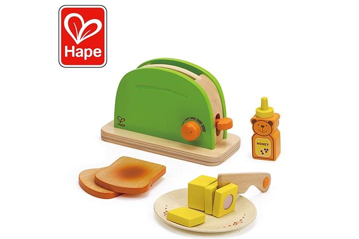 Hape Pop Up Toaster Wooden Play Kitchen Set