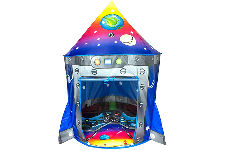 Impirilux Rocketship Play Tent House