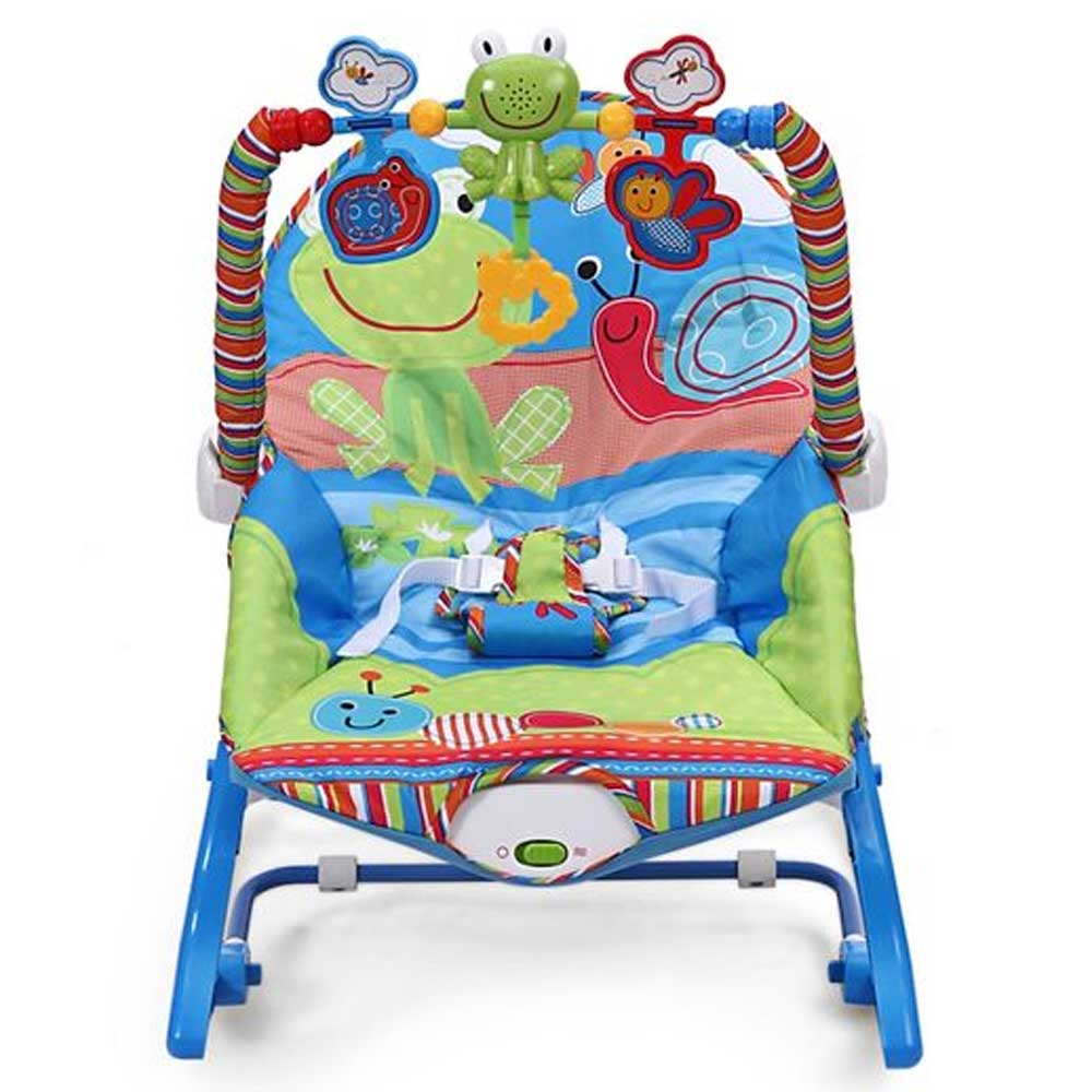 CiCi Infant to Toddler Baby Musical Rocker