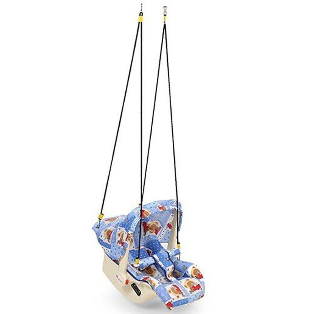 Infanto 7 In 1 Swing Bouncer Teddy Print