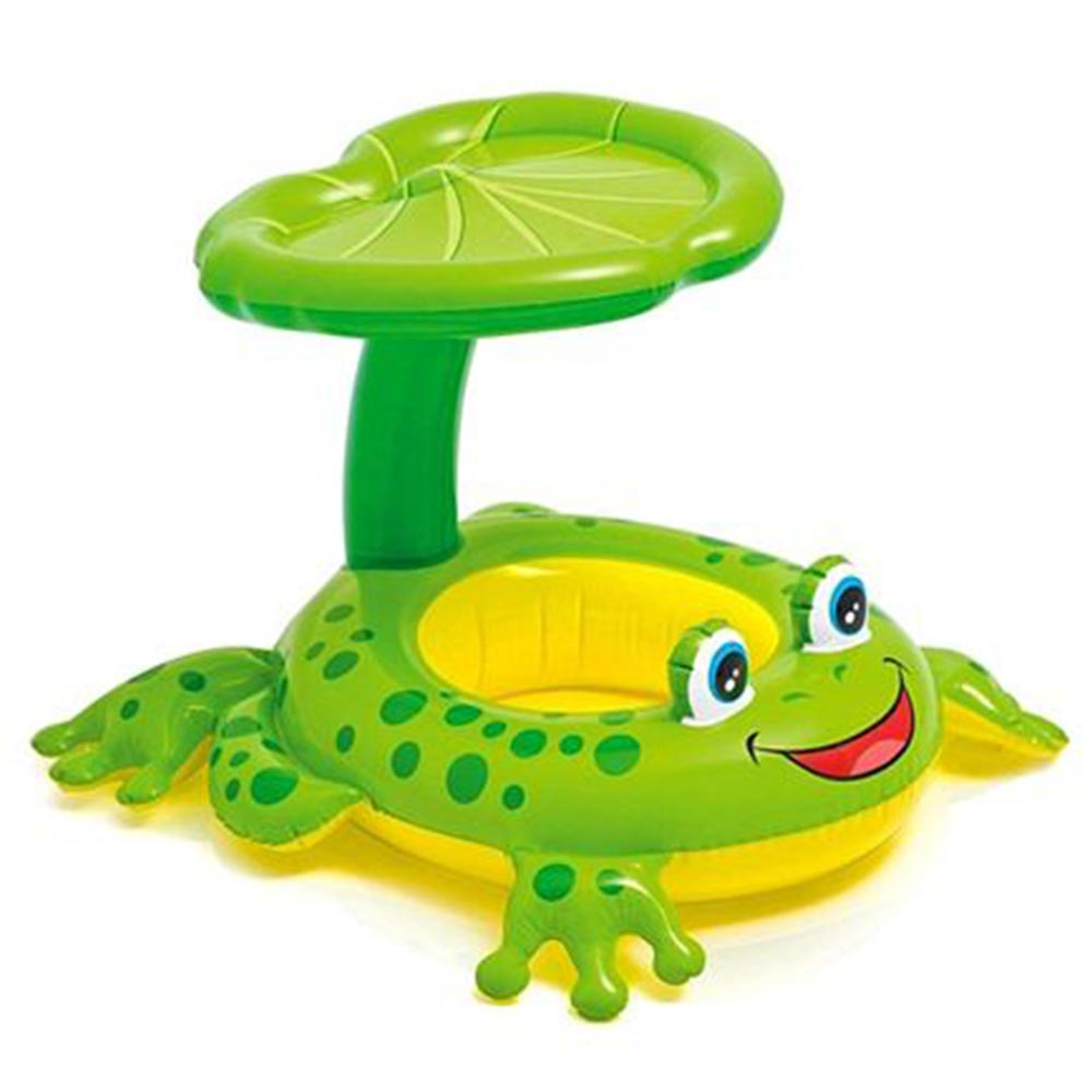 Intex Froggy Shape Swimming Ring WIth Canopy