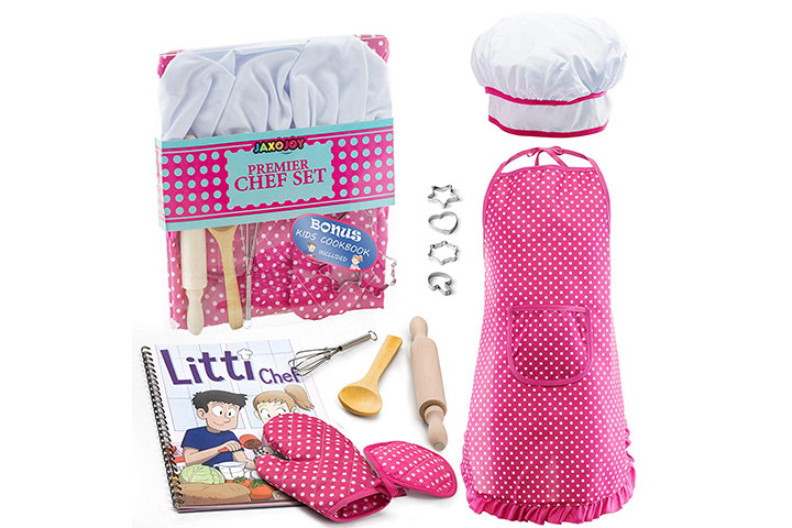 Curious Chef Girls Chef Kit