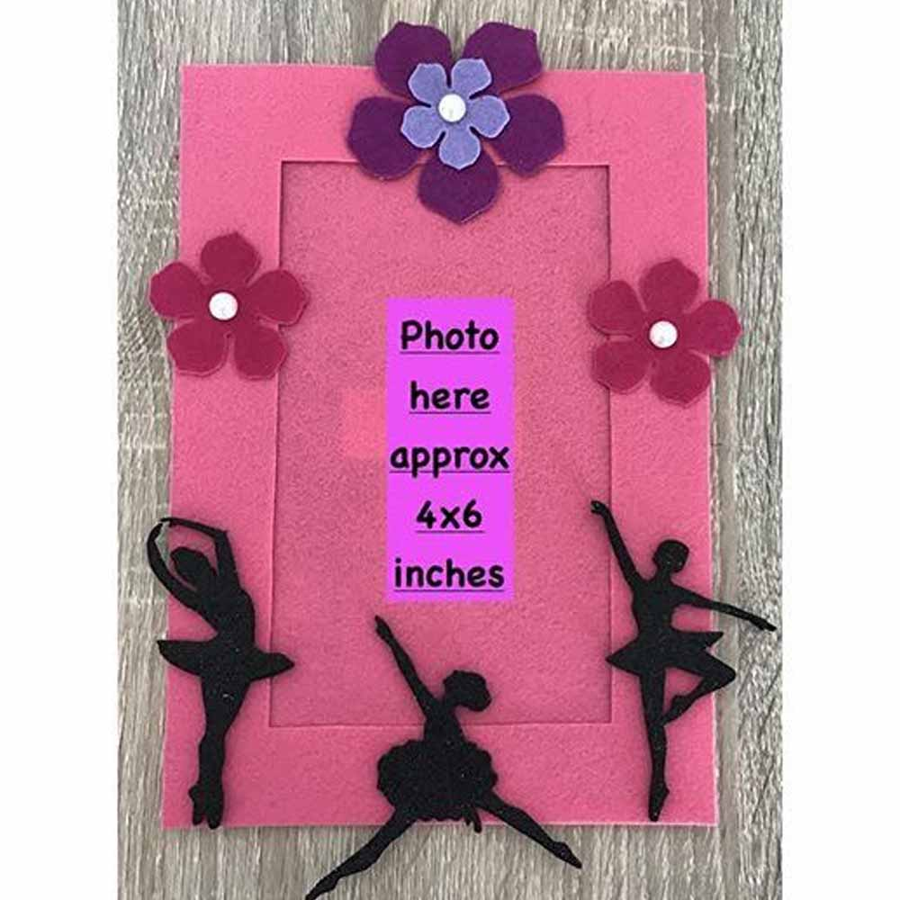 Kalacaree Ballerina Theme Magnetic Photo Frame-0