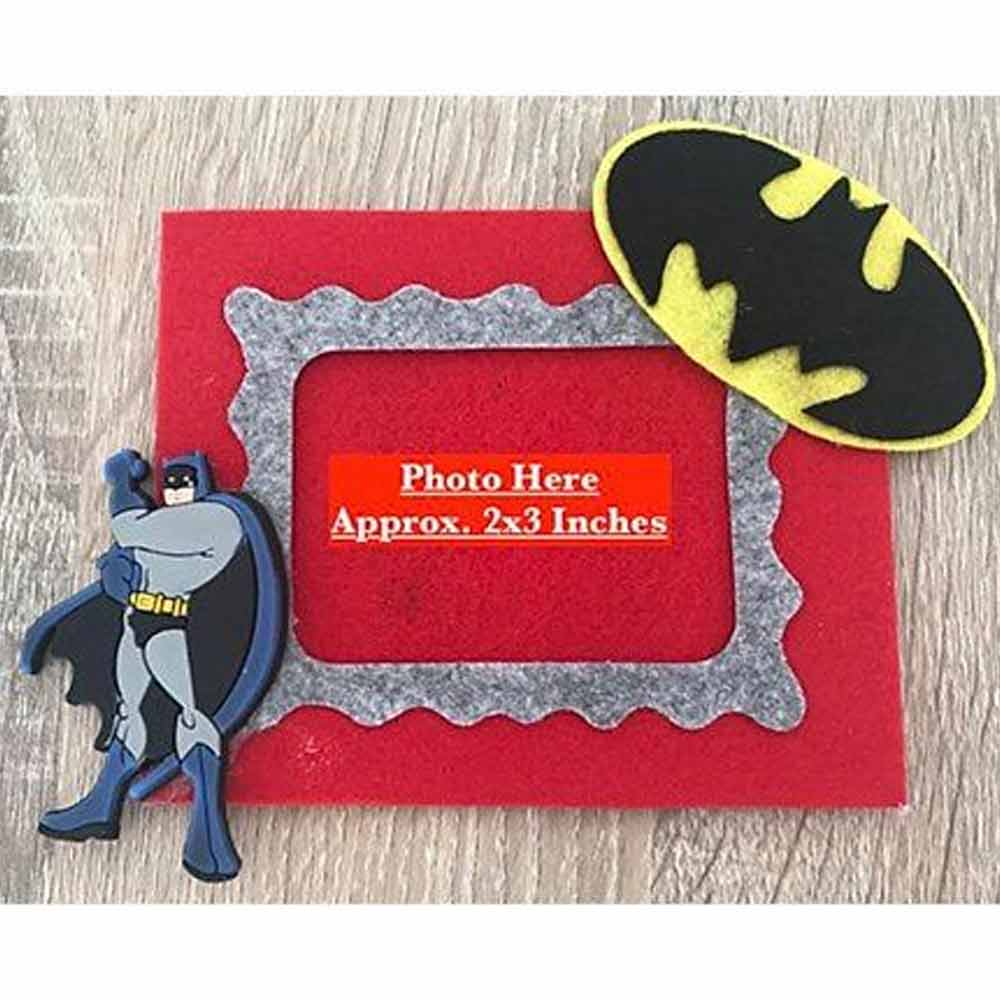 Kalacaree Bat Theme Magnetic Photo Frame