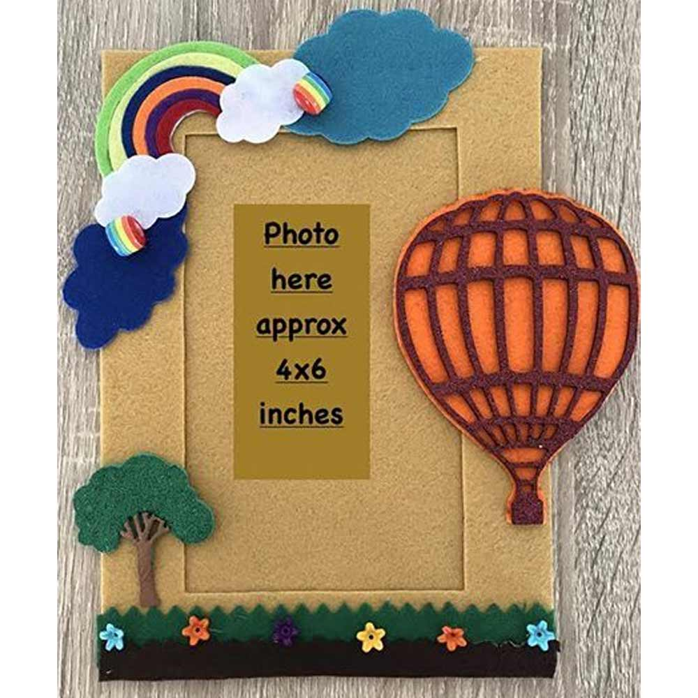 Kalacaree Hot Air Baloon Theme Magnetic Photo Frame-0