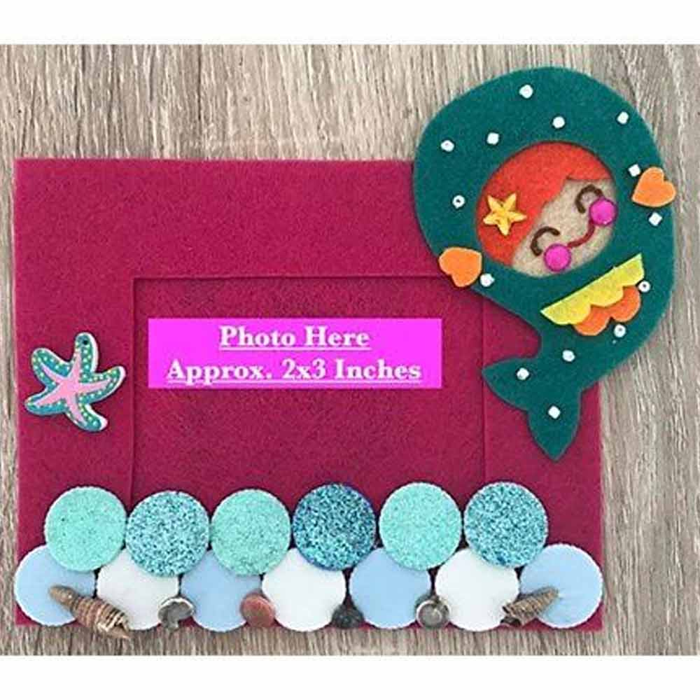 Kalacaree Mermaid Theme Magnetic Photo Frame-0