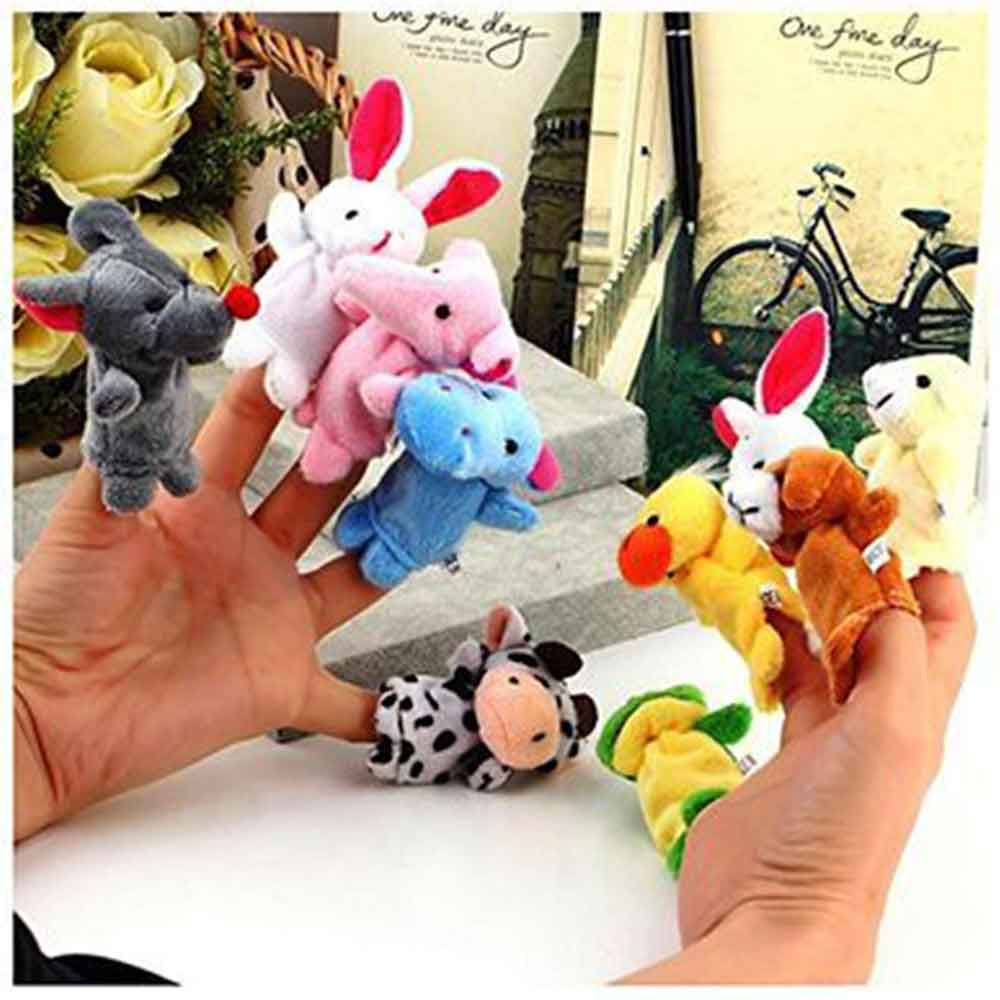 Kuhu Creations Animal Finger Puppets Pack