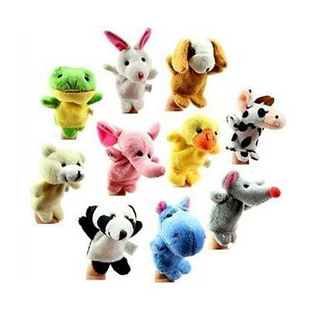 Kuhu Creations Animal Finger Puppets Pack-1