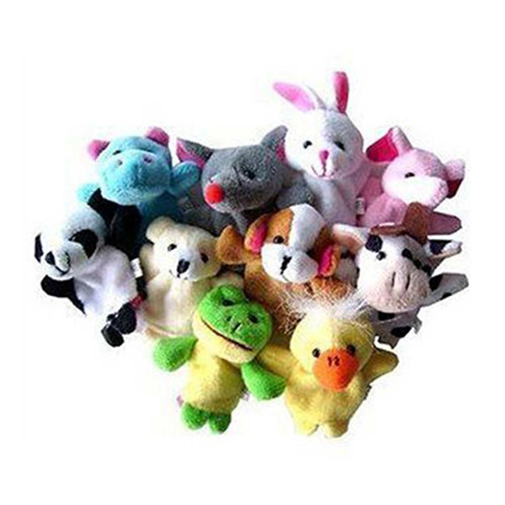 Kuhu Creations Animal Finger Puppets Pack-2