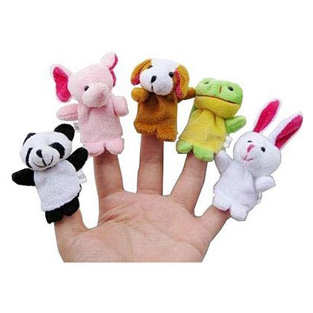 Kuhu Creations Animal Finger Puppets Pack-3