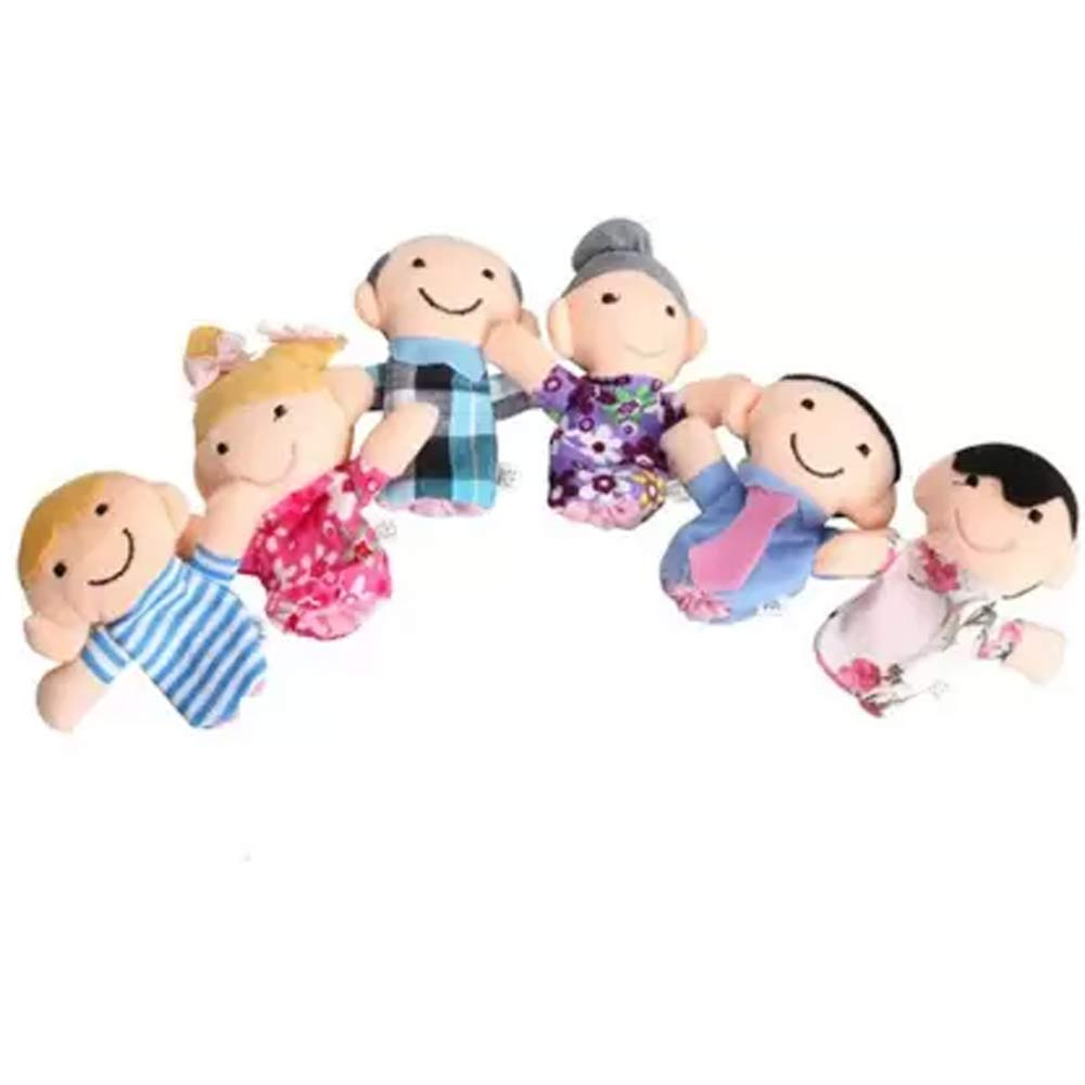 Kuhu Creations Family Finger Puppets Pack