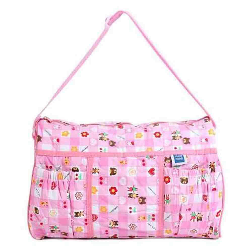 Mee Mee Diaper Bag Teddy Bear Print