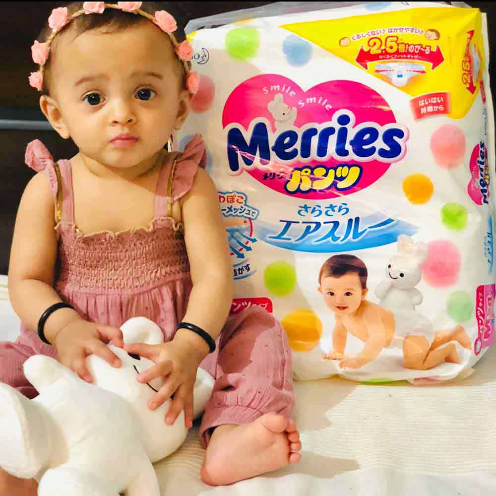 Merries - Exceptional Breathability Tape Diapers