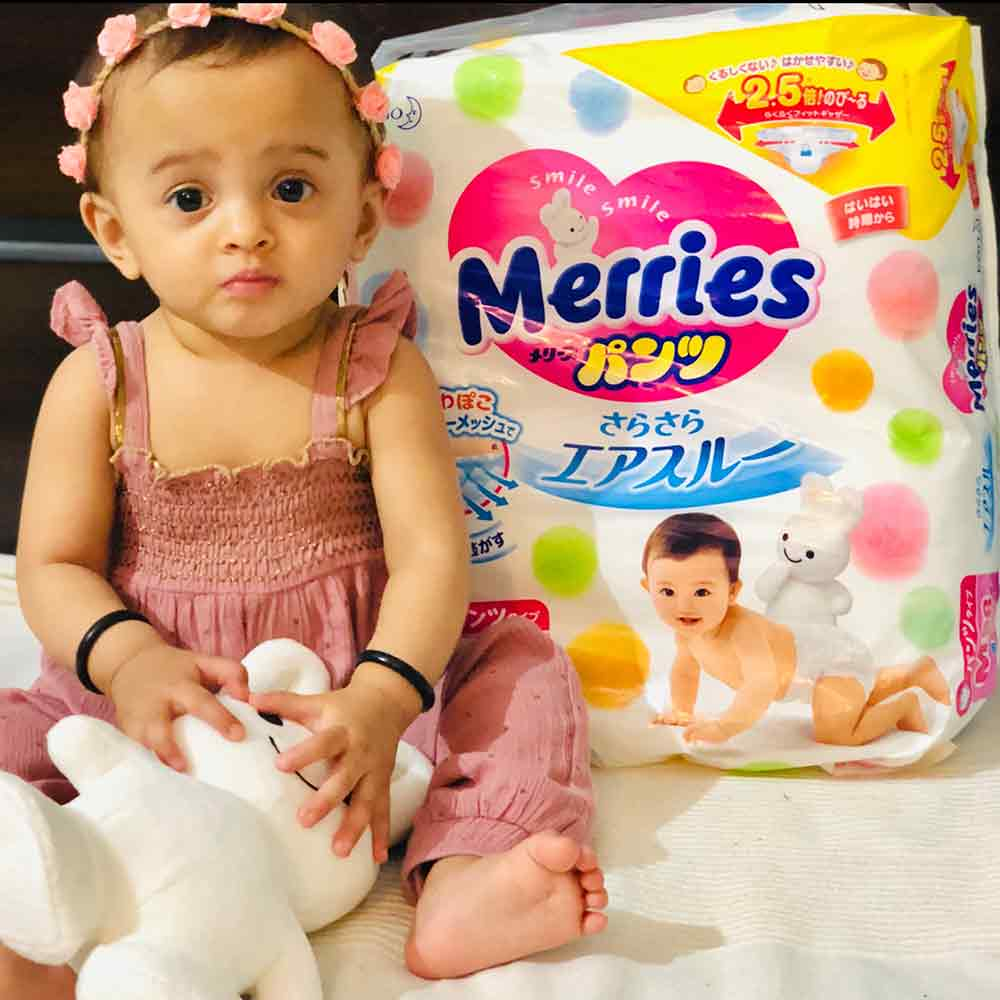 Merries - Exceptional Breathability Tape Diapers-5