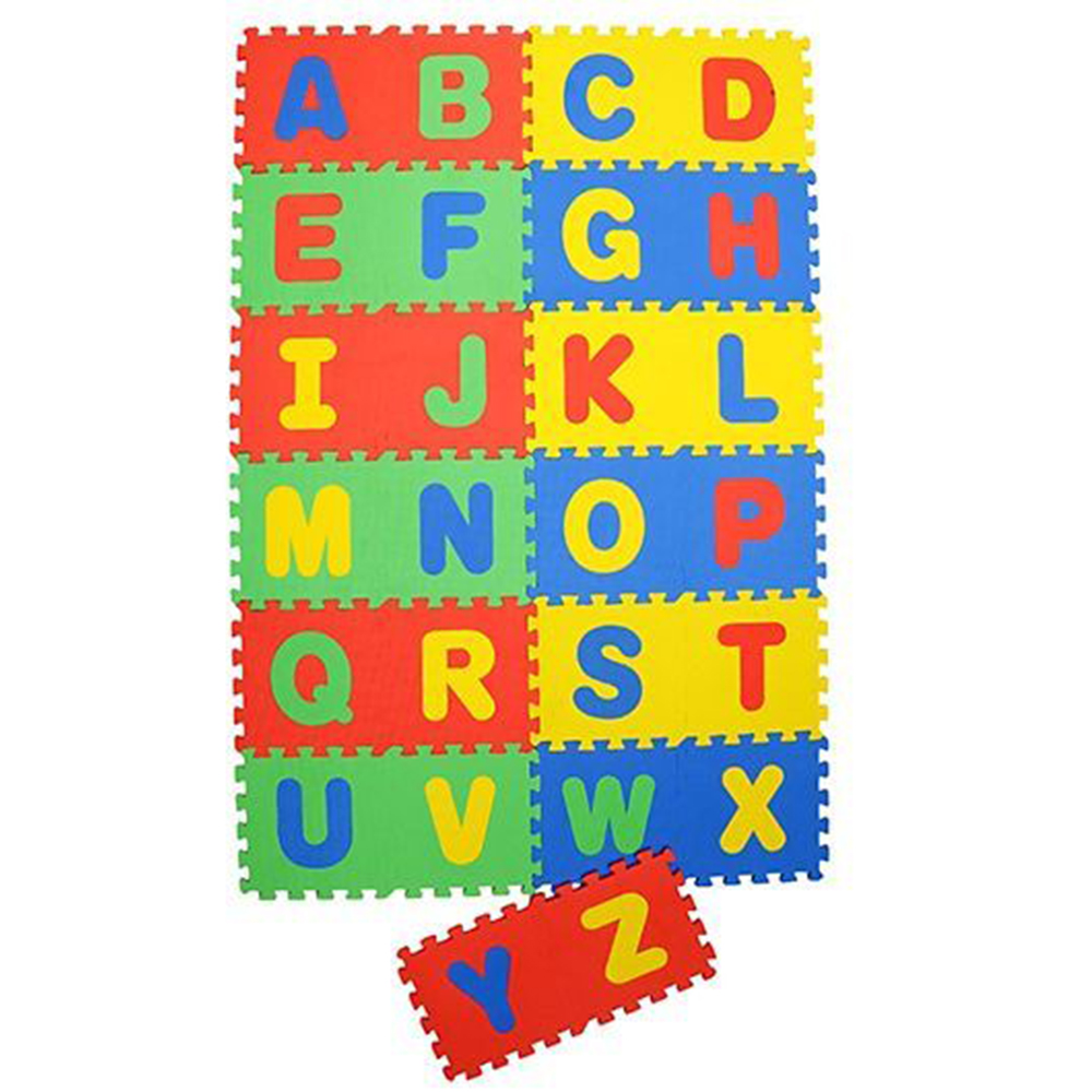 NHR Puzzle Mat With Pop Out Alphabet Pack-0